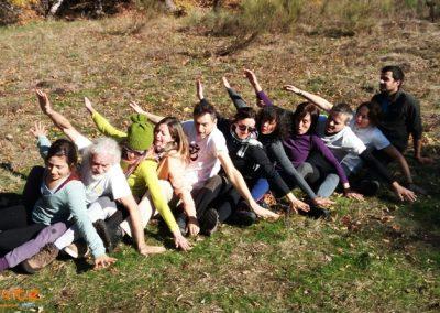 retiro de yoga en la naturaleza