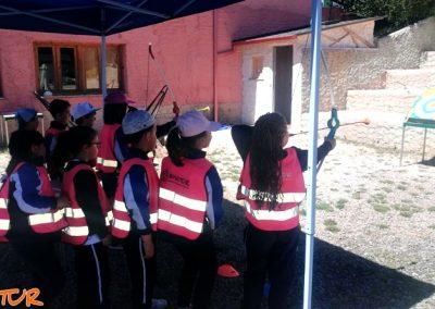 Multiaventura para escolares en El Bierzo